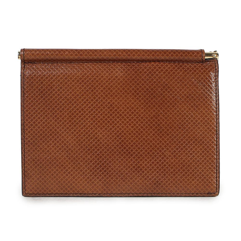 Bottega Veneta Leather Hinge Wallet With Money Clip