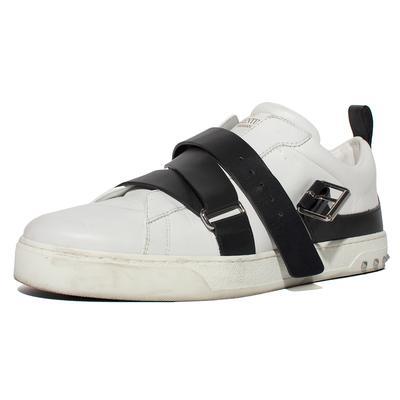 Valentino Size 9 Buckle Strap Sneaker