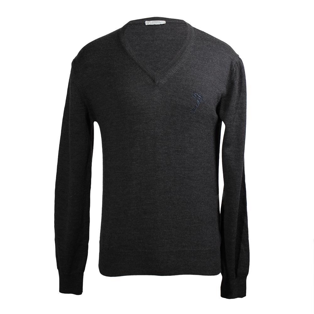 Versace Collections Size Medium Medusa Sweater