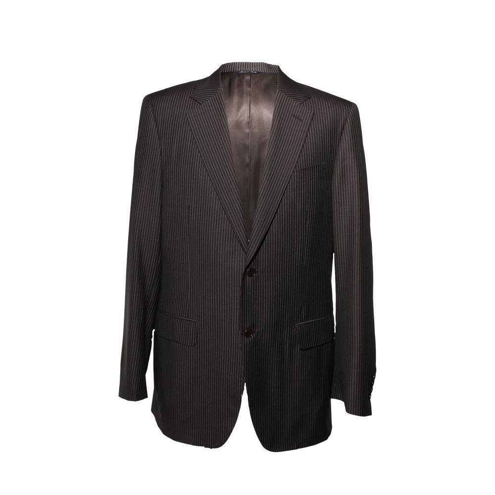 Canali Pinstripe Suit Size 42 Long