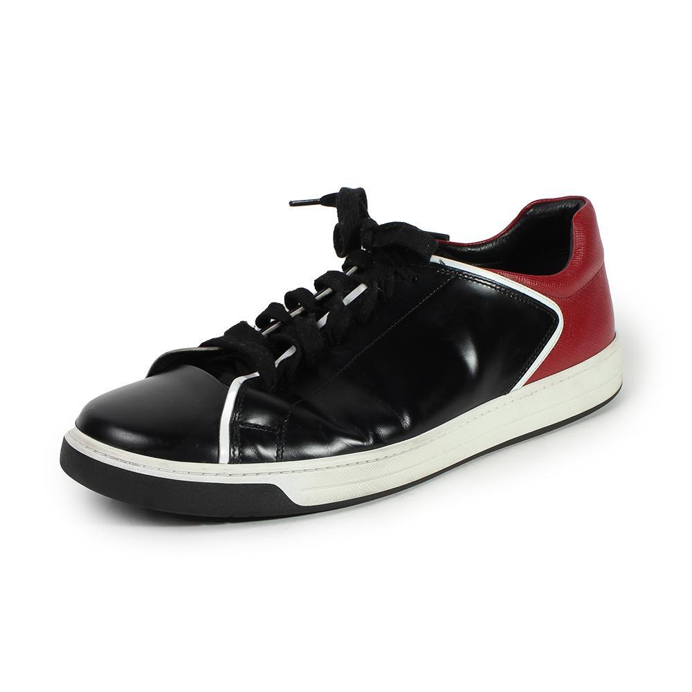 Prada Bicolor Leather Size 12 Sneakers