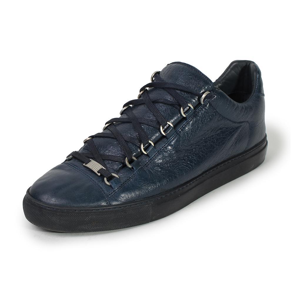 Balenciaga Size 13 Pelle S.Gomm Arena High Tops