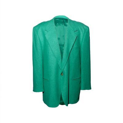 Versace Size 46 Linen Blazer