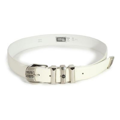 Versace V2 Classic Size 34 Greek Key Belt
