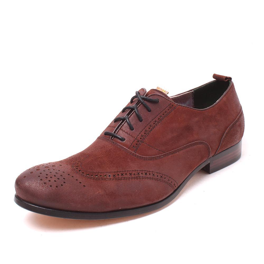 Robert Graham Size 9 Nubuck Leather Dress Shoes