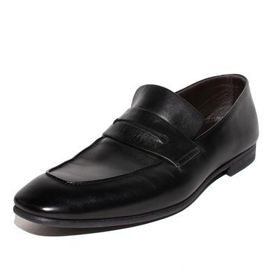 Ermenegildo Zegna Size 11 Lasola Penny Loafers