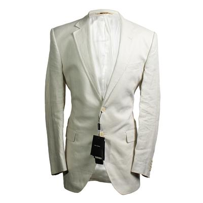 Dolce & Gabbana Size 50  Linen Blazer