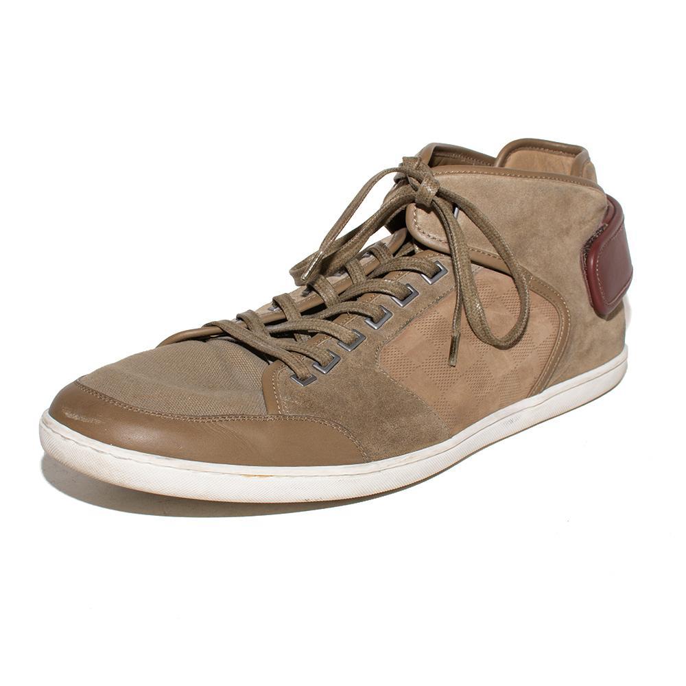 Louis Vuitton Size 12 Brown Sneakers