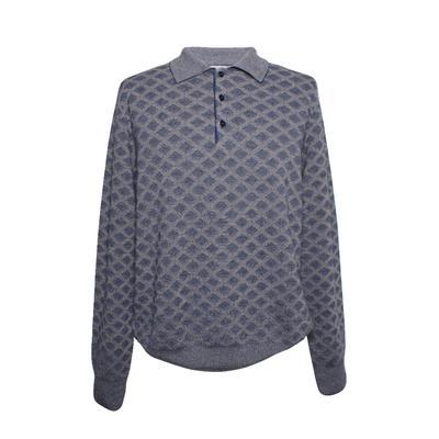Canali  Geometric Print Size 50 Sweater