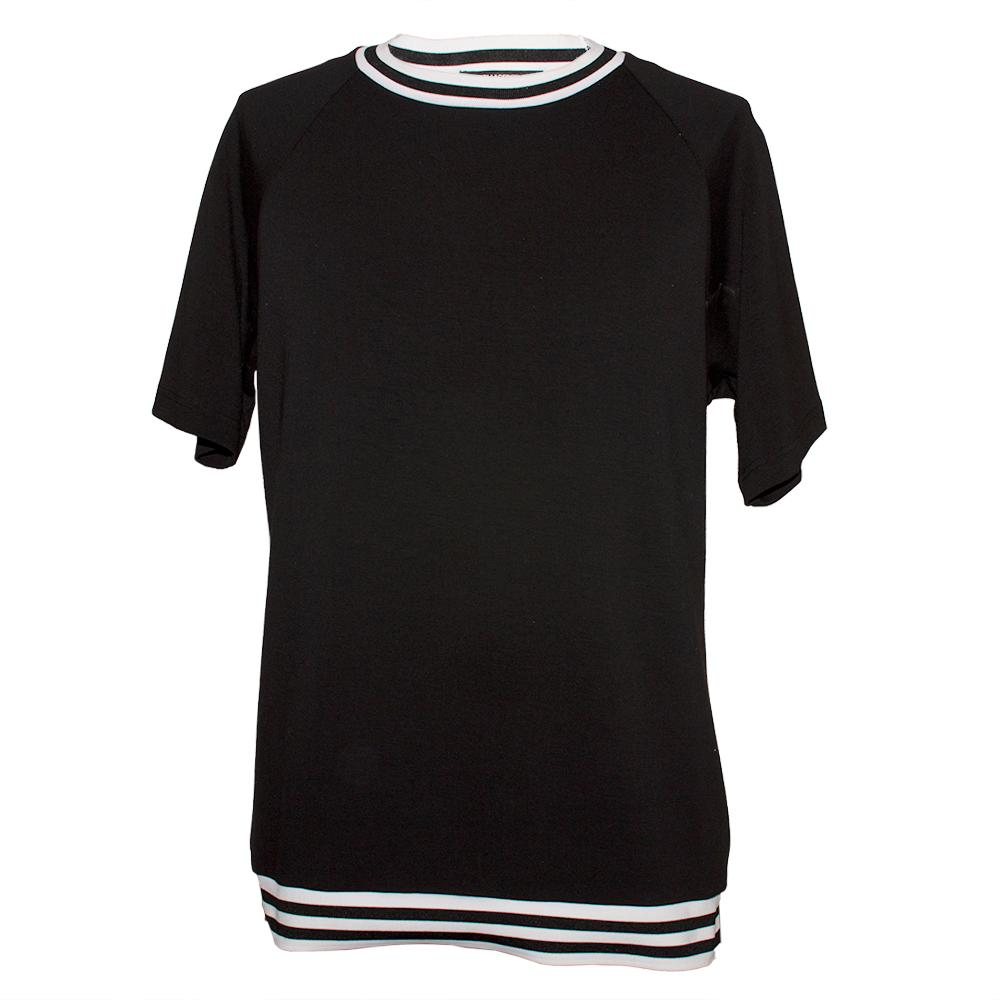 Karl Lagerfeld Size Medium Black T- Shirt