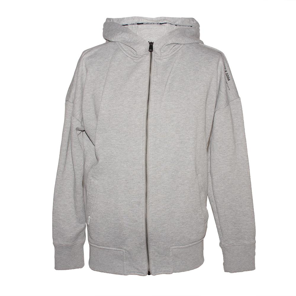 Scotch & Soda Size Medium Grey Zip- Up Hoodie