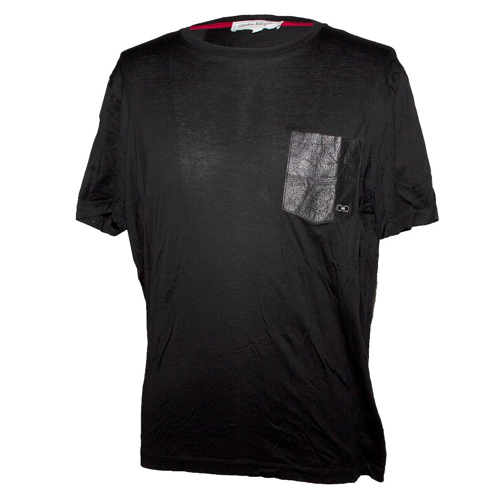 Salvatore Ferragamo Size Xl Short Sleeve Shirt