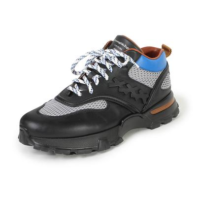 Ermenegildo Zegna 10.5 Size Couture Black Cesare Sneakers