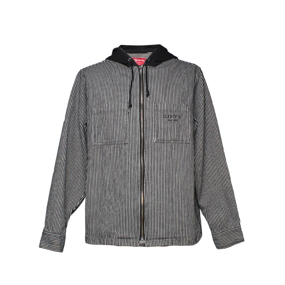 Supreme Size Medium Hooded Seersucker Jacket