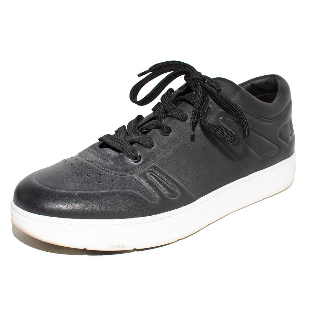 Jimmy Choo Size 46 Black Hawaii Sneakers