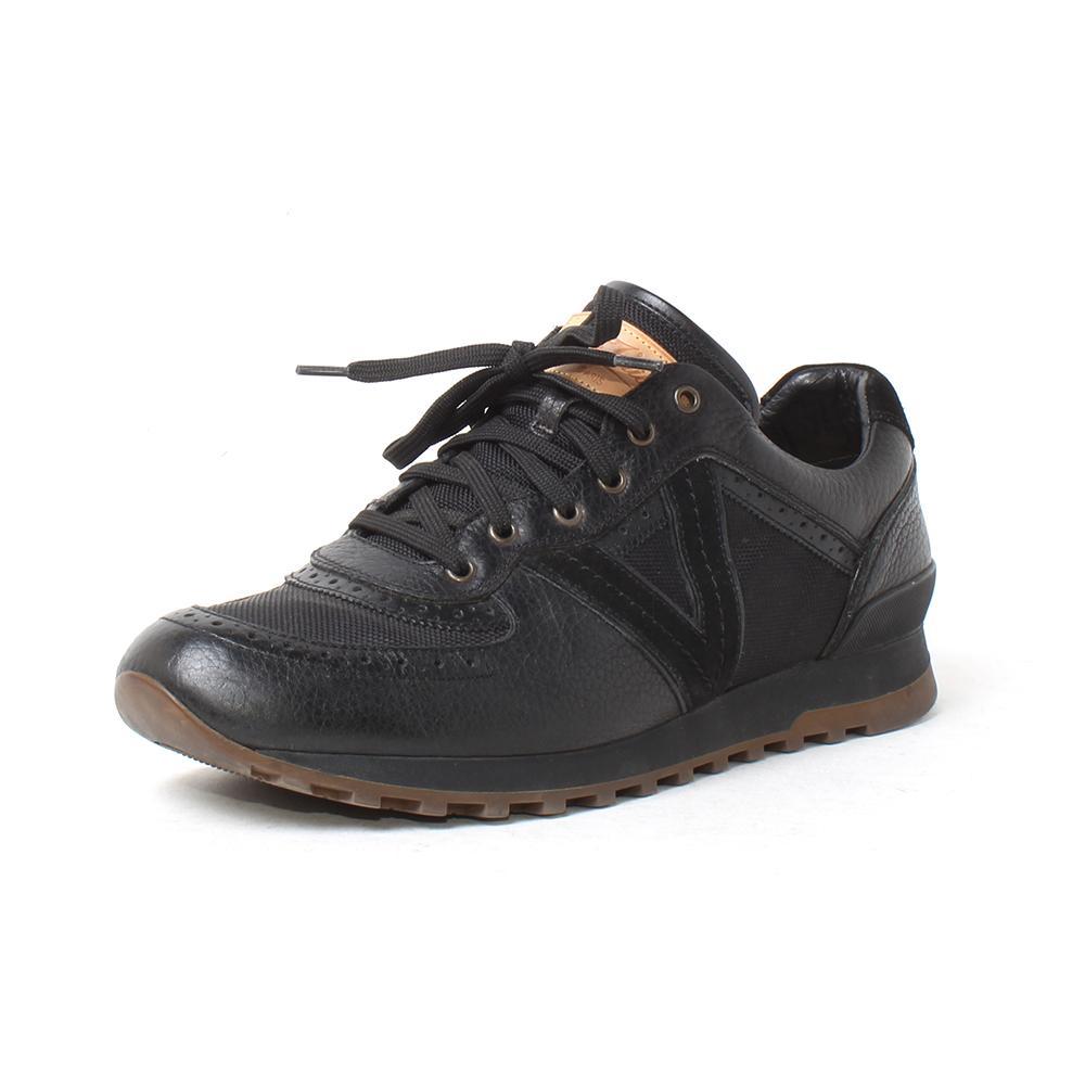 Louis Vuitton Size 8 Black Sneakers