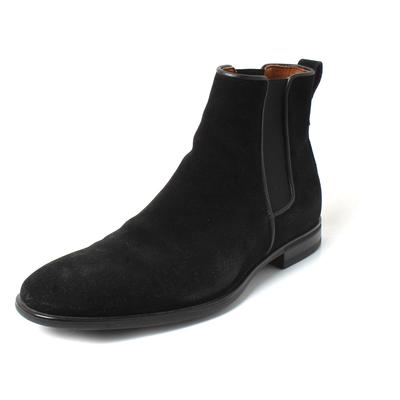 Aquatalia Size 8 Black Suede Boots