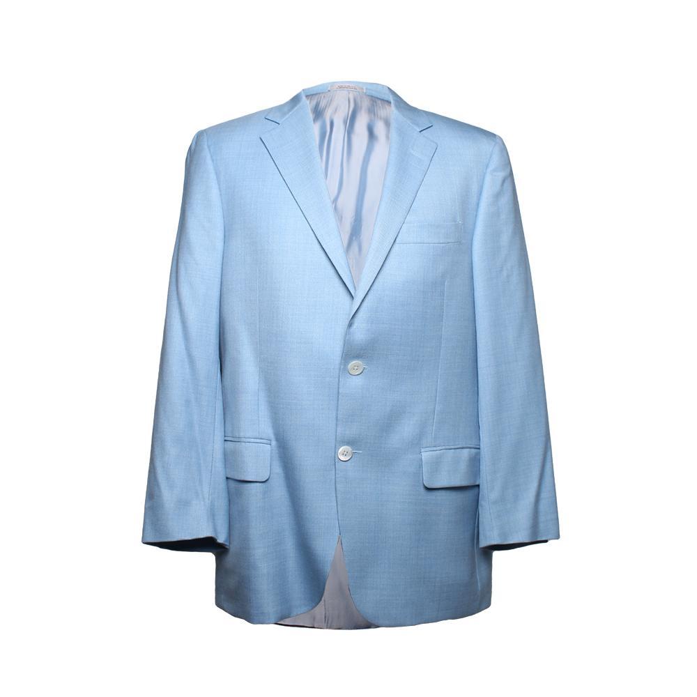 Hickey Freeman Size 40 Blue Sport Coat