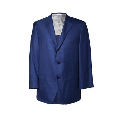 Samuelsohn Size 42 Blue Sport Coat