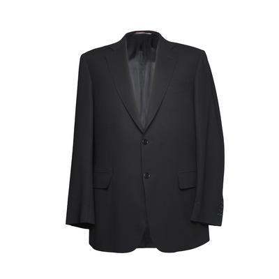 Canali Size 40 Black Sport Coat