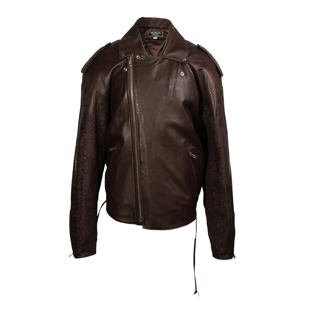 Murga Boot Co.Size 2xl Stingray Leather Jacket