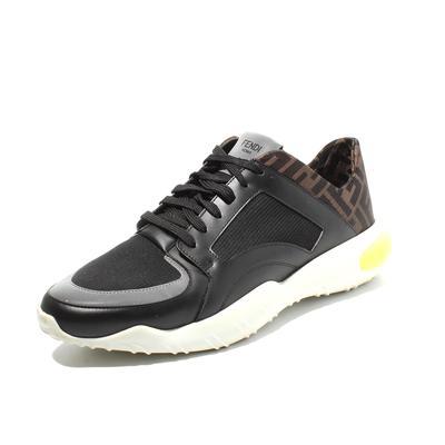 Fendi Size 9 Zucca Print Sneaker