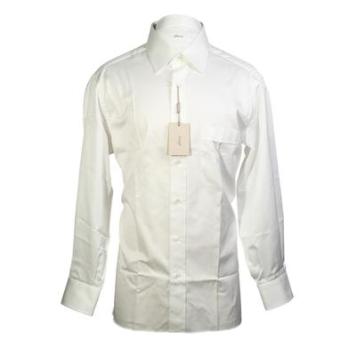 Brioni Size Large Button Down Dress Shirt