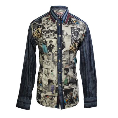 Robert Graham 'Feelin Love' Shirt
