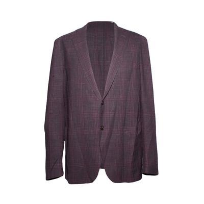 Pal Zileri Size 42 Burgundy Sport Coat