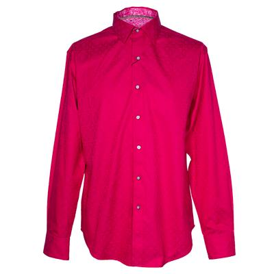 Robert Graham Size Medium Pink Long Sleeve Shirt