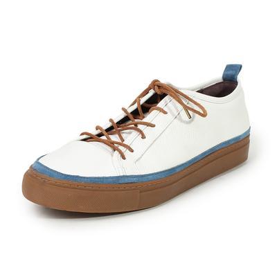 Noah Waxman Size 11 Pebble Leather Sneakers