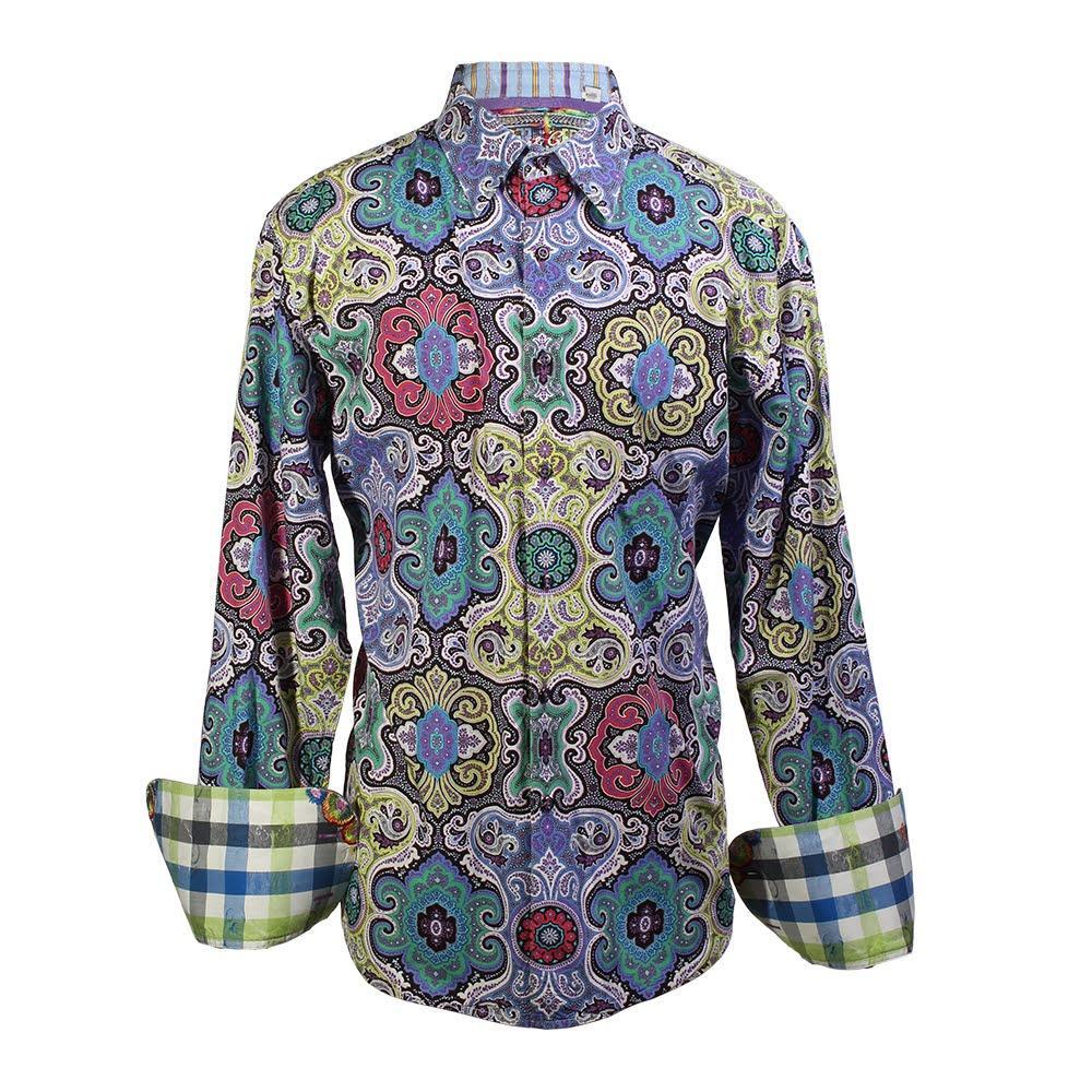 Robert Graham Size Large Paisley Shirt