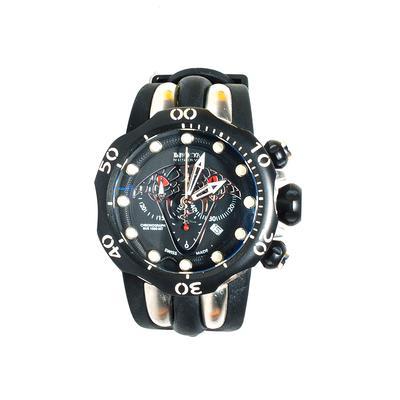 Invicta Black Venom Watch