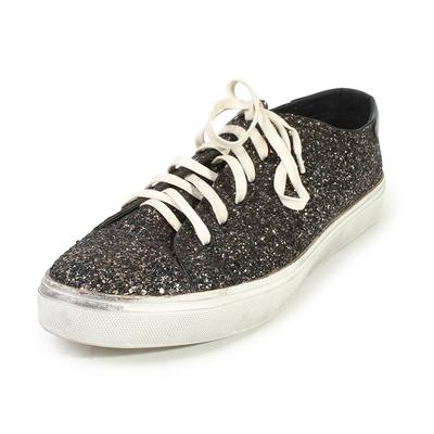 Saint Laurent Bedford Size 46 Glitter Sneakers