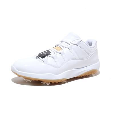 Jordan Size 14 Low Golf Metallic Gold Sneakers w| Box