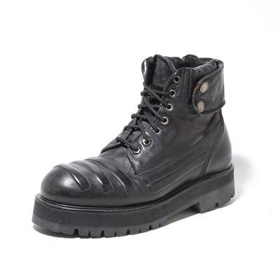 Neil Barrett Size 41 Black Leather Boots