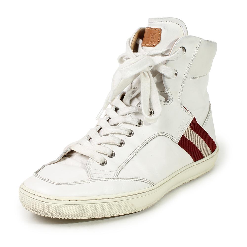 Bally Size 8.5 Olandi High- Top Sneakers