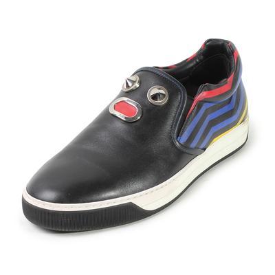 Fendi Size 9 Face Motif Sneakers