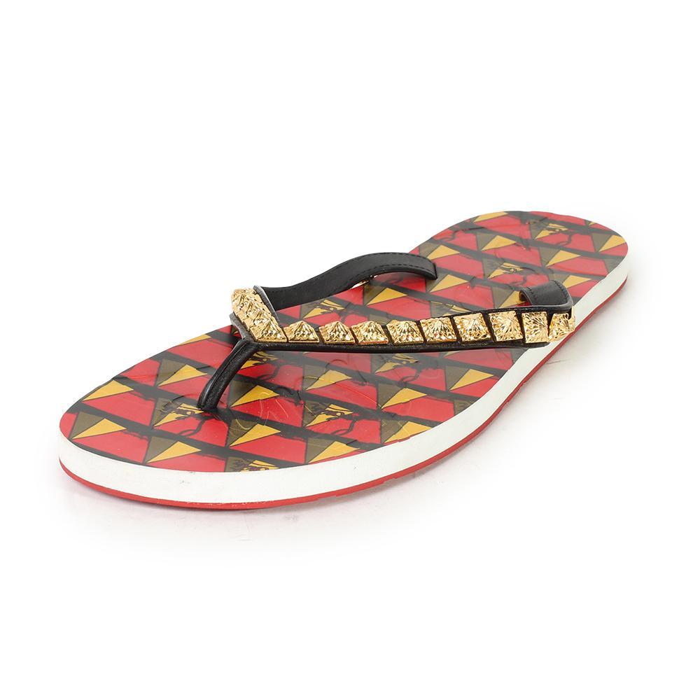 Christian Louboutin Size 14 Montezazou Flip- Flops