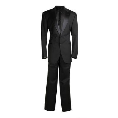 Dolce + Gabbana Size 54 Classic Tuxedo