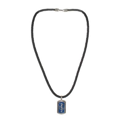 John Hardy Dayak Dog Tag Necklace