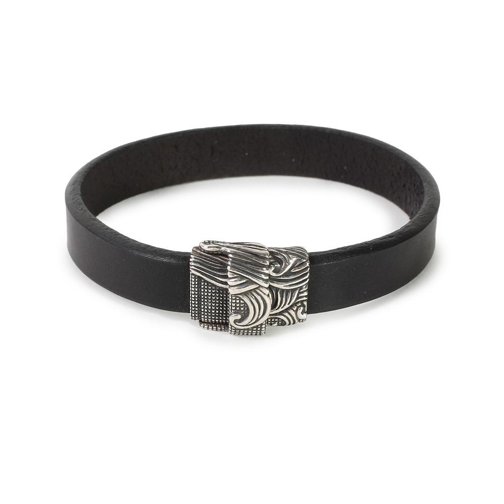 David Yurman Leather Waves Bracelet