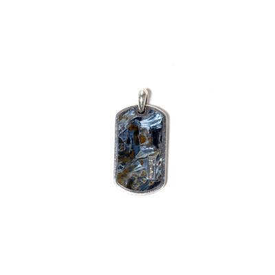 David Yurman Pendant from the Meteorite Collection