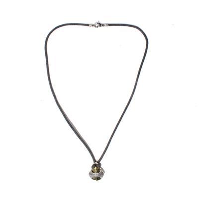 David Yurman Two Tone Amroy Cross Necklace