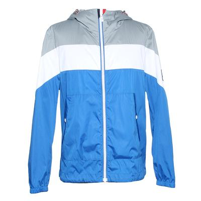 Moncler Size XL Gamme Bleu Hooded Windbreaker