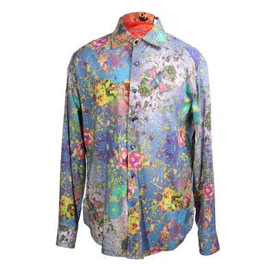 Robert Graham Size Large Limited Edition Paint Splatter Shirt