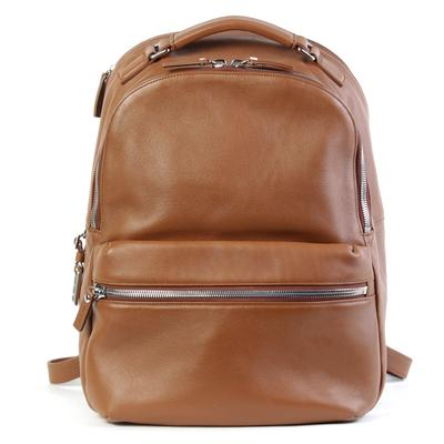 Shinola Leather Tan Backpack