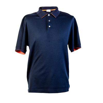 Hermes Size XXL Blue Polo Shirt