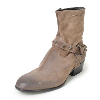 Philipp Plein Size 42 Flat Ankle Boots