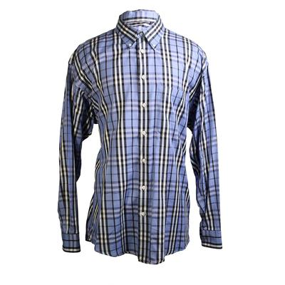 Burberry Size XL London Plaid Long Sleeve Shirt